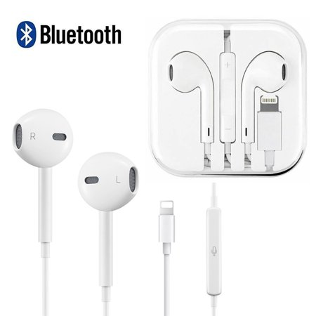 Magicfly Earphones Bluetooth Wired Earbuds Headphones Headset for Apple iPhone 7 8 Plus X XS MAX (Apple Iphone Bluetooth)