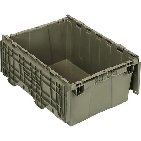 Quantum Storage QDC2115-9 Attached Top Container, 21.5 x 15.25 x 9.62 in.