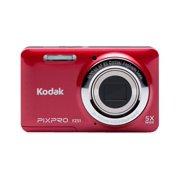 Kodak PIXPRO Friendly Zoom FZ51 - Digital camera - compact - 16.15 MP - 720p - 5x optical zoom - red