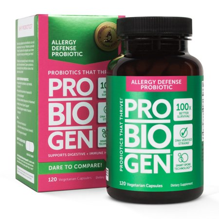 Probiogen Allergy Defense Probiotic  Smart Spore Technology  Dna Verified  100X Better Survivability