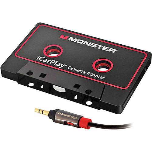 Monster Cable 129342-00 iCarPlay Cassette Adapter 800 For iPod/iPhone