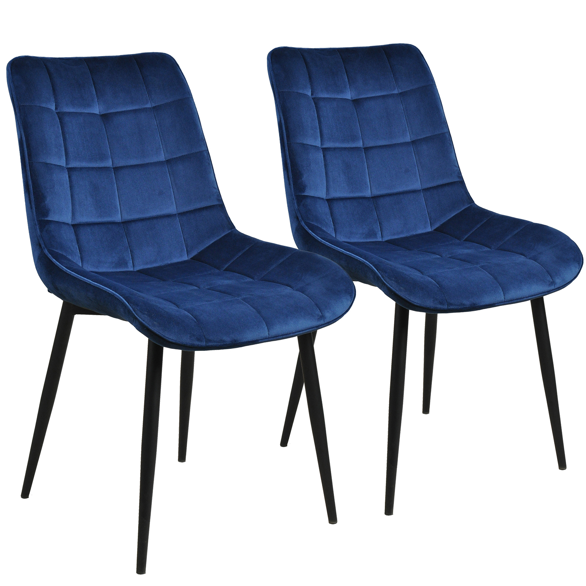 2 Pieces Waiting Room Chair, Heavy Duty Solid Wood Velvet ...