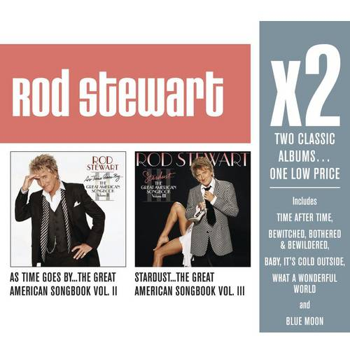 X2: As Time Goes: The Great American Songbook, Vol. II/The Great American Songbook, Vol. III (2CD)