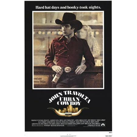Urban Cowboy (1980) 11x17 Movie Poster - Halloween 1980 Trailer