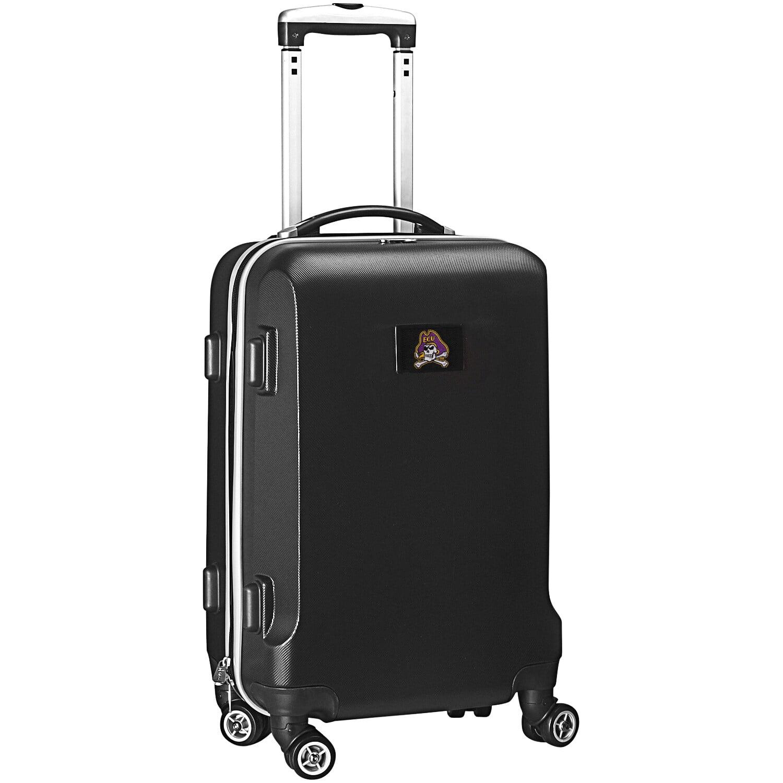 "East Carolina Pirates 20"" 8-Wheel Hardcase Spinner Carry-On - Black"