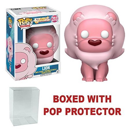 Steven Universe Lion Pop  Pop Vinyl Figure   Pop Protector  Bundled Plastic Box Protector With The Collector In Mind  Removable Film  By Funko