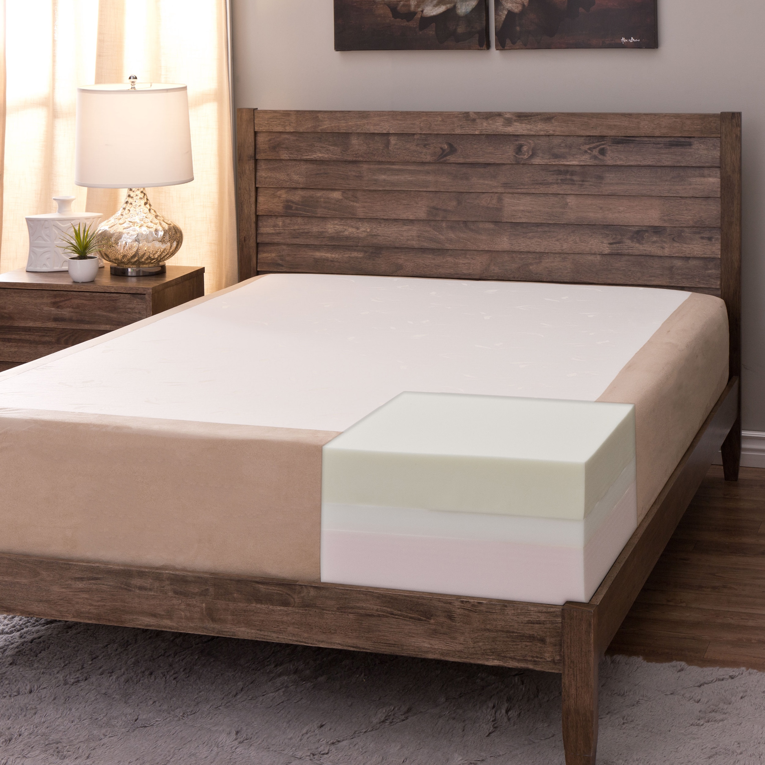 slumber king mattress solutions your comfort size twin memory choose pin foam inch