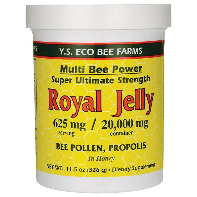YS Organic Bee Farms - Multi Bee Power Royal Jelly 625 mg. - 11.5 oz.