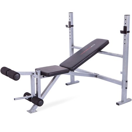 Cap strength mid width bench Cap strength weight bench