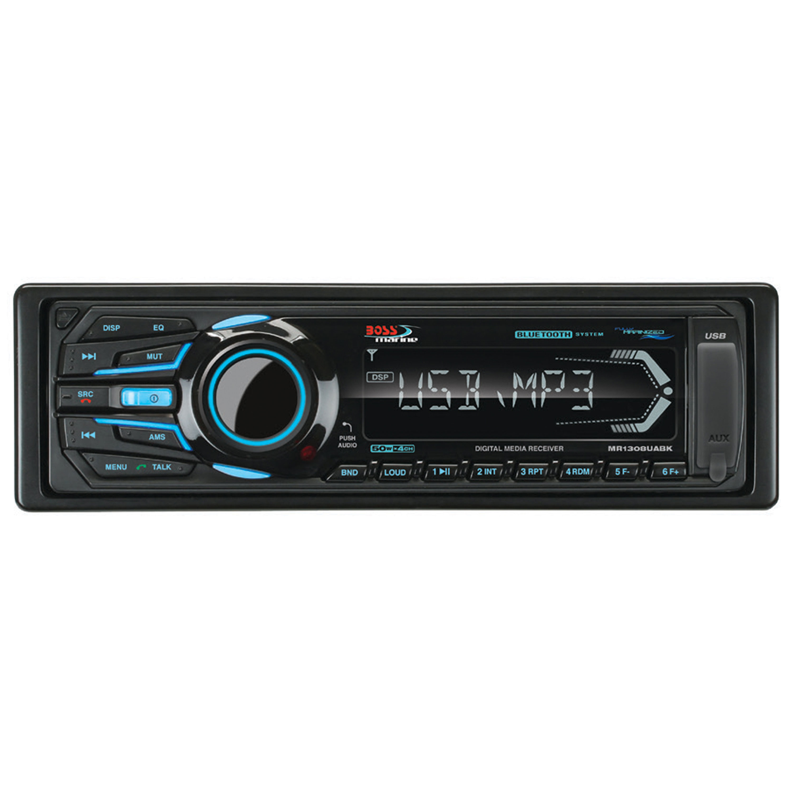 Boss Audio Systems MR1308UABK Boss Bluetooth Am/Fm Enabled