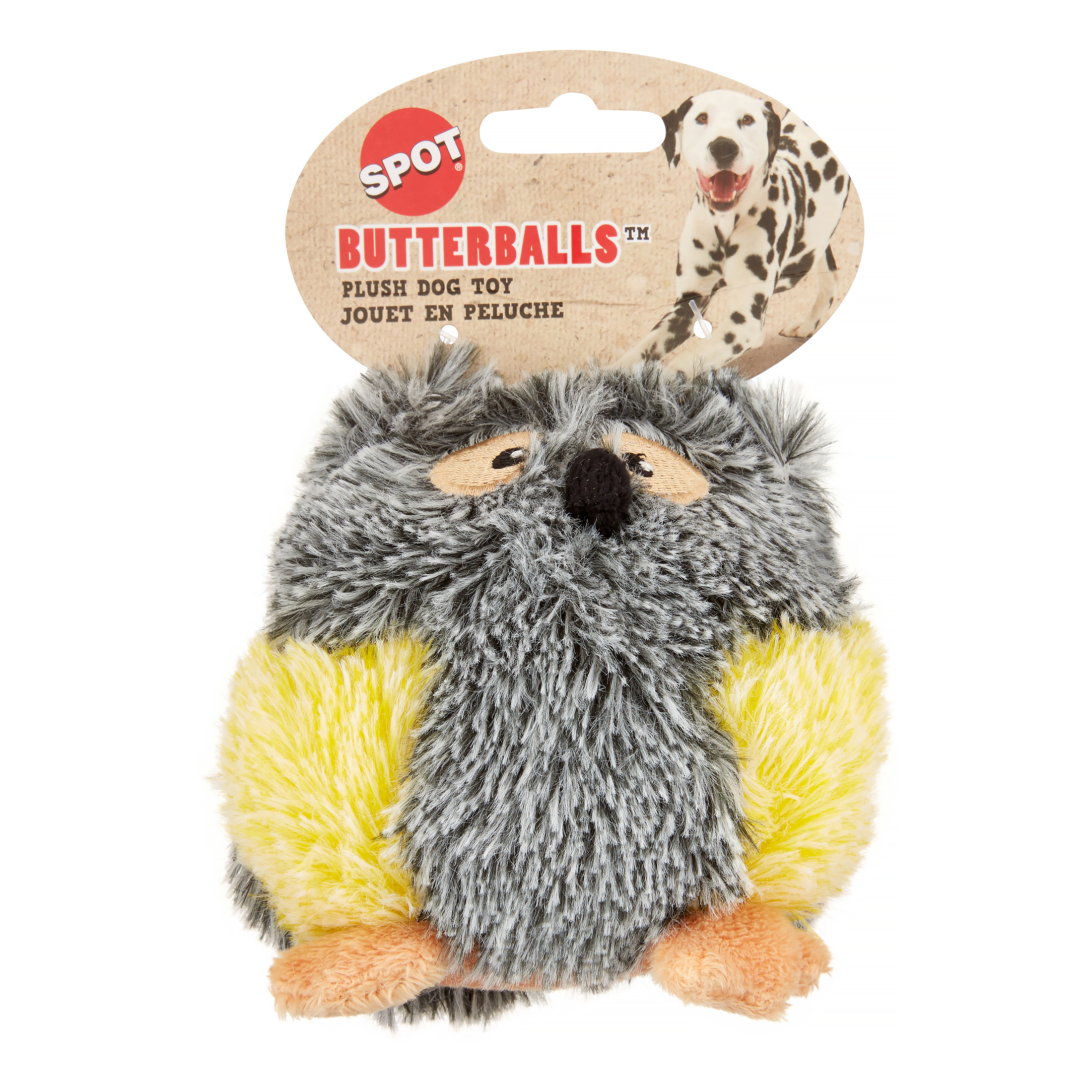 Ethical Pet Butterballs Plush Dog Toy