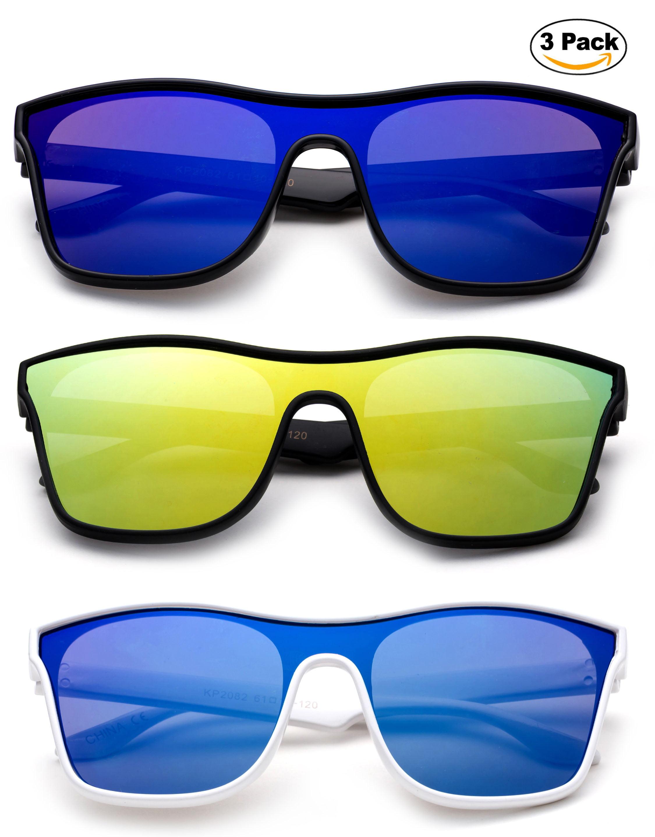 NCAA 2-Pack Blade Style Sport Sunglasses
