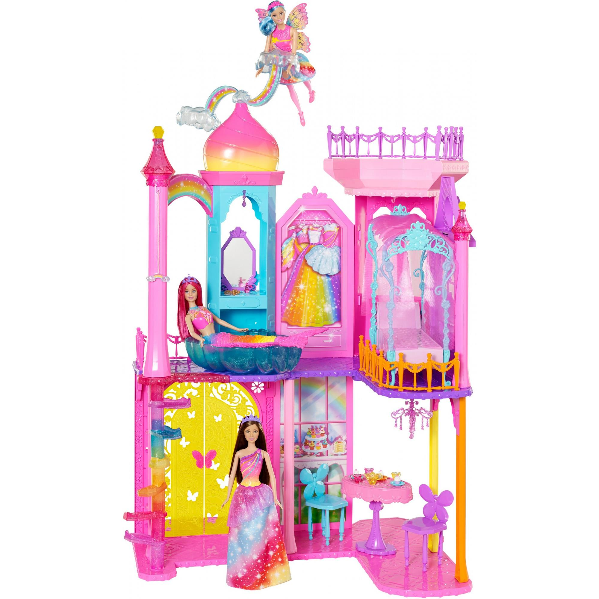 Barbie Rainbow Cove Princess Castle Playset by MATTEL INC.