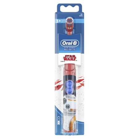 Oral-B Kids Battery Powered Electric Toothbrush Featuring Disney STAR WARS with Extra Soft Bristles, for Children and Toddlers age (Best Budget Electric Toothbrush 2019)