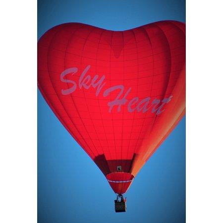 Hot Air Balloon Fiesta Albuquerque - Canvas Print Hot Air Balloon Balloons Albuquerque Balloon Fiesta Stretched Canvas 10 x 14