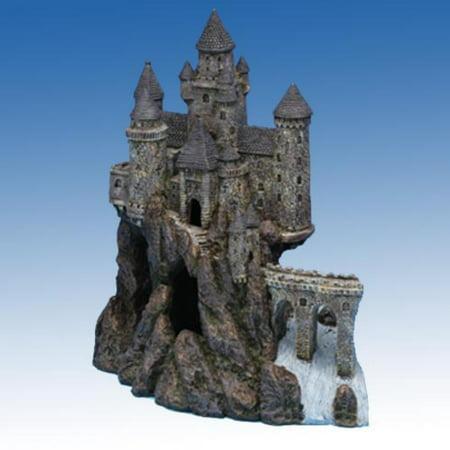 - Penn Plax Age-of-Magic Magical Castle, Super Size, Left Section