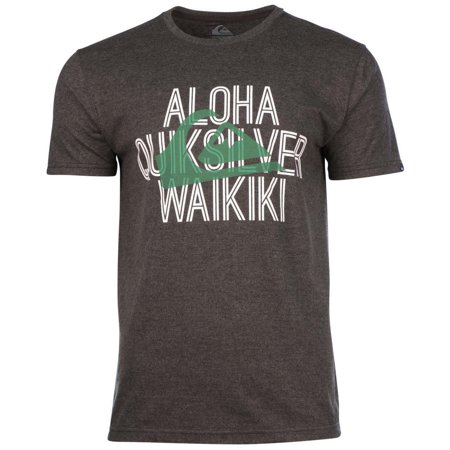 Quiksilver men 39 s aloha hawaiian graphic t shirt for Hawaiian graphic t shirts