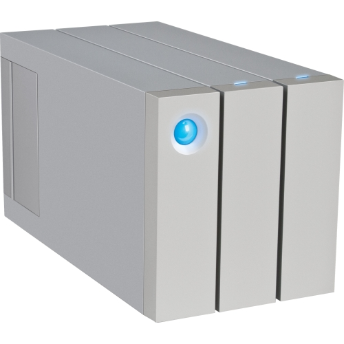 LaCie 2big DAS Array 2 x HDD Supported 2 x HDD Installed 8 TB Installed HDD Capacity 2 x Total Bays... by LACIE LTD.