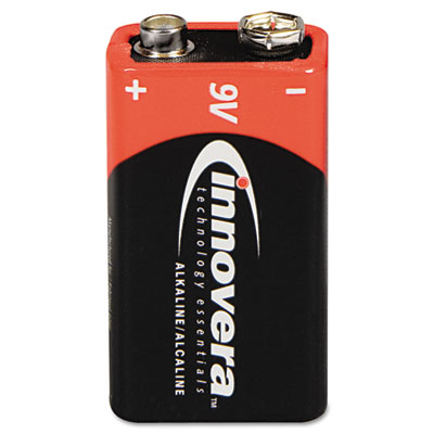 Innovera 44004 General Purpose Battery - Alkaline - 9V DC