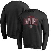 Toronto Raptors Fanatics Branded Arch Smoke Pullover Sweatshirt - Black