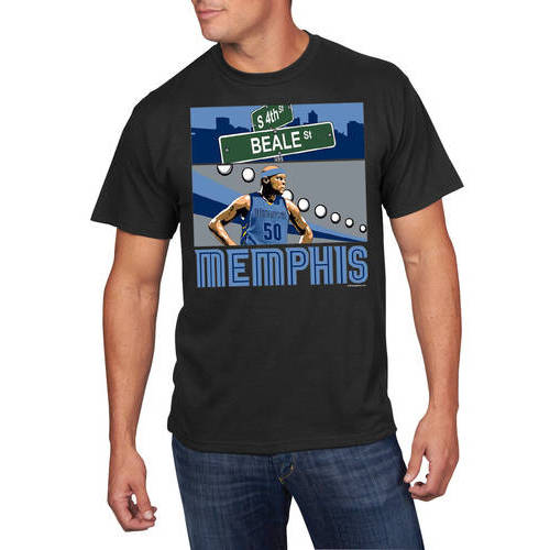 NBA Big Men's Memphis Grizzlies Zach Randolph Player Tee