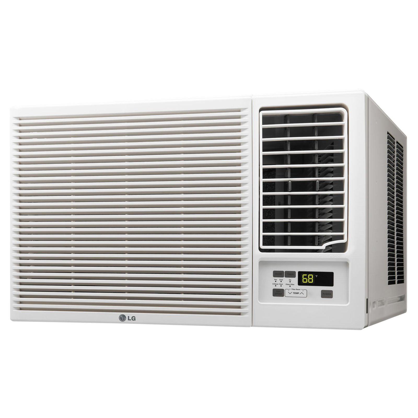8000 BTU White GARRISON 2477811 R-410A Through-The-Wall Heat//Cool Air Conditioner with Remote Control