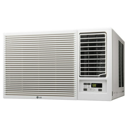LG LW1216HR 12,000 BTU 230V Window-Mounted Air Conditioner with 11,200 BTU Supplemental Heat