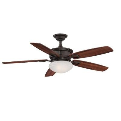 Hampton Bay AL968-ORB Lazerro II 52 in. Oil Rubbed Bronze Ceiling Fan by Hampton Bay