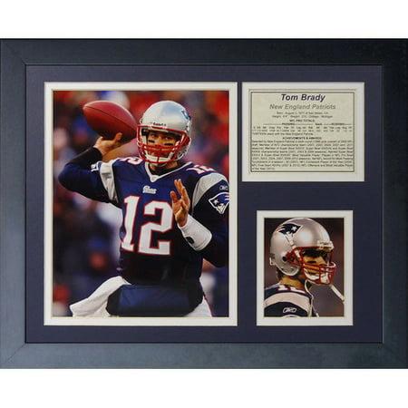 Legends Never Die Tom Brady - Home Framed Memorabilia