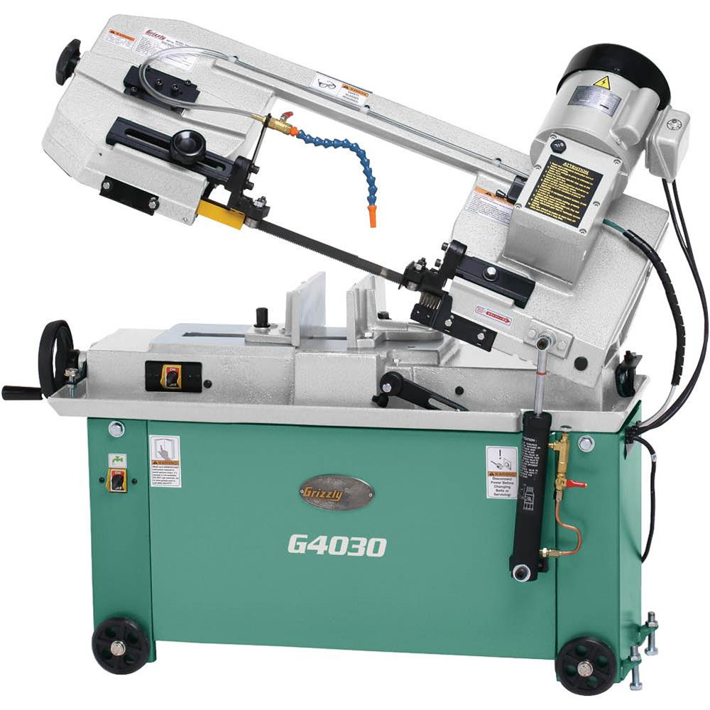 """Grizzly G4030 6-1/2"""" x 10"""" Metal-Cutting Bandsaw"""