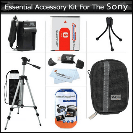 Essential Accessories Kit for Sony Cyber-Shot DSC-HX5V DS...
