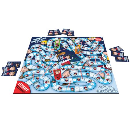 Charlie Brown Christmas Journey Board Game (Good Luck Charlie Halloween Games)
