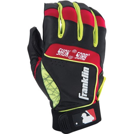 Franklin Sports Adult SHOK-SORB NEO Batting Glove