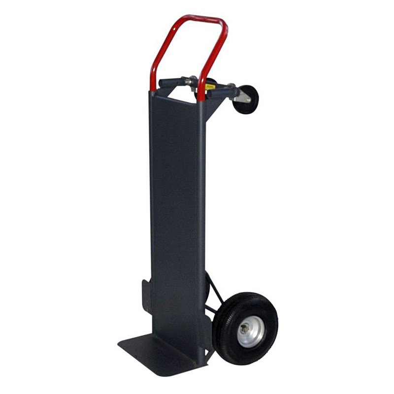 Milwaukee Convertible Hand Truck with Solid Steel Deck by Gleason - Milwaukee Hand Truck