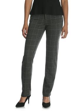 Women's Ponte Knit Comfort Waist Pant