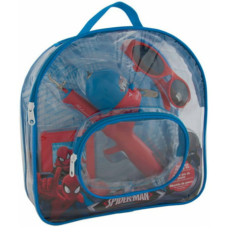 Surf Fishing Carts - Shakespeare Spiderman Fishing Accessories Kit