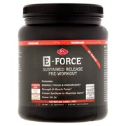 Olympian Labs E-Force Sustained Release Pre Workout Powder, Fruit Punch, 30 Servings