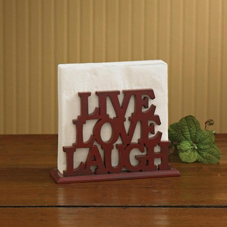 Live Laugh Love Lunch Napkin Holder