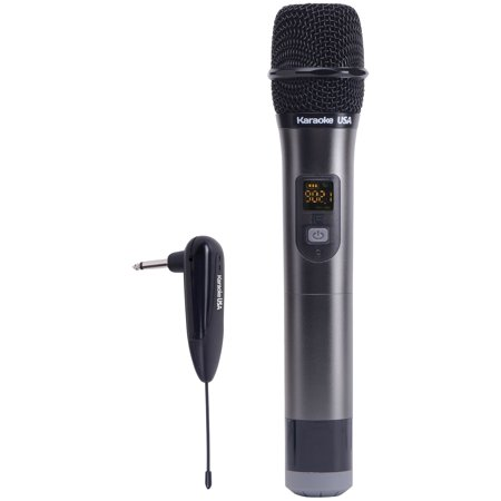 Karaoke USA 900 MHz UHF Wireless Microphone (WM900)