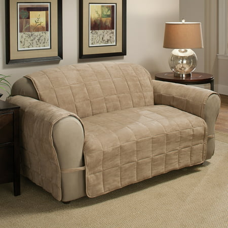 Innovative Textile Solutions Ultimate Faux Suede XL Sofa Furniture Cover Slipcover