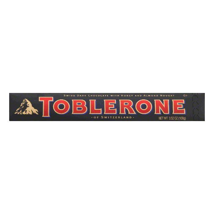 Toblerone Bittersweet Chocolate Bar, 3.52 OZ (Pack of 20)