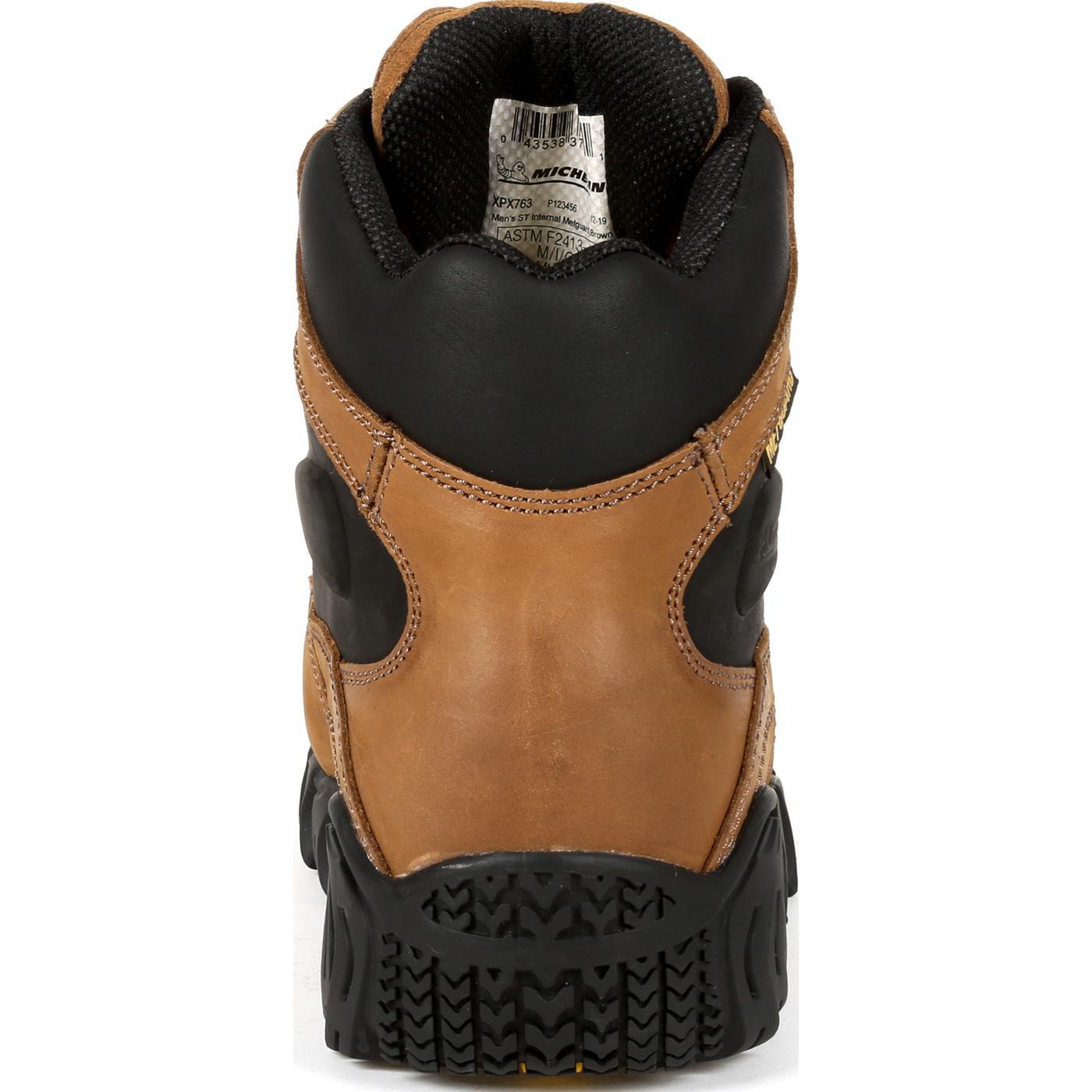 Steel Toe Internal Met Guard Work Boot
