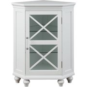 Elegant Home Fashions Mason Corner Floor Cabinet