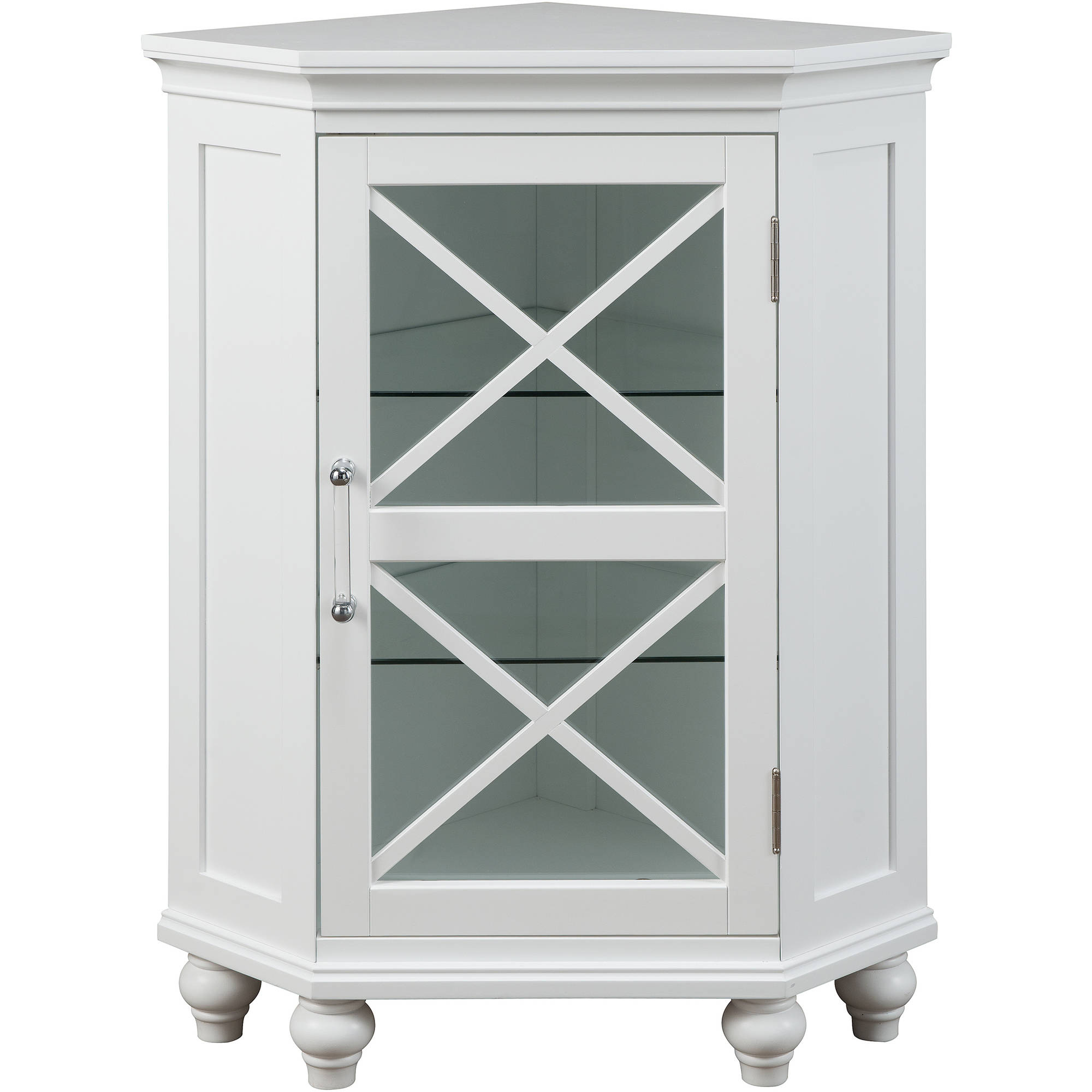 Mason Corner Floor Cabinet