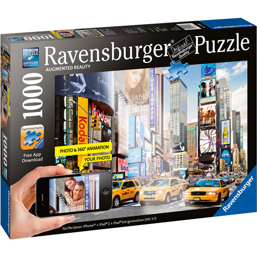Ravensburger 1000 Piece Colorful Activity at Times Square Puzzle 19306
