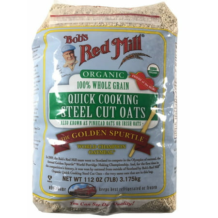 Bob's Red Mill Organic 100% Whole Grain Quick Cooking Steel Cut Oats 7 (Best Master Electric Grain Mills)