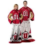 """NCAA Utah Utes Player 48"""" X 71"""" Full Body Comfy"""