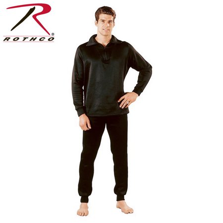 Rothco ECWCS Polyester Thermal Long Underwear Tops w/Zipper