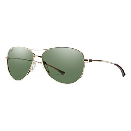 LANGLEY Sunglass, Carbonic Polarized Gray Green Lens, (Smith Sunglass)
