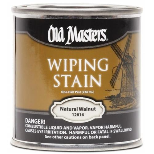 Old Masters / Master Products 12816 Hp Nat Walnut Wipe Stain